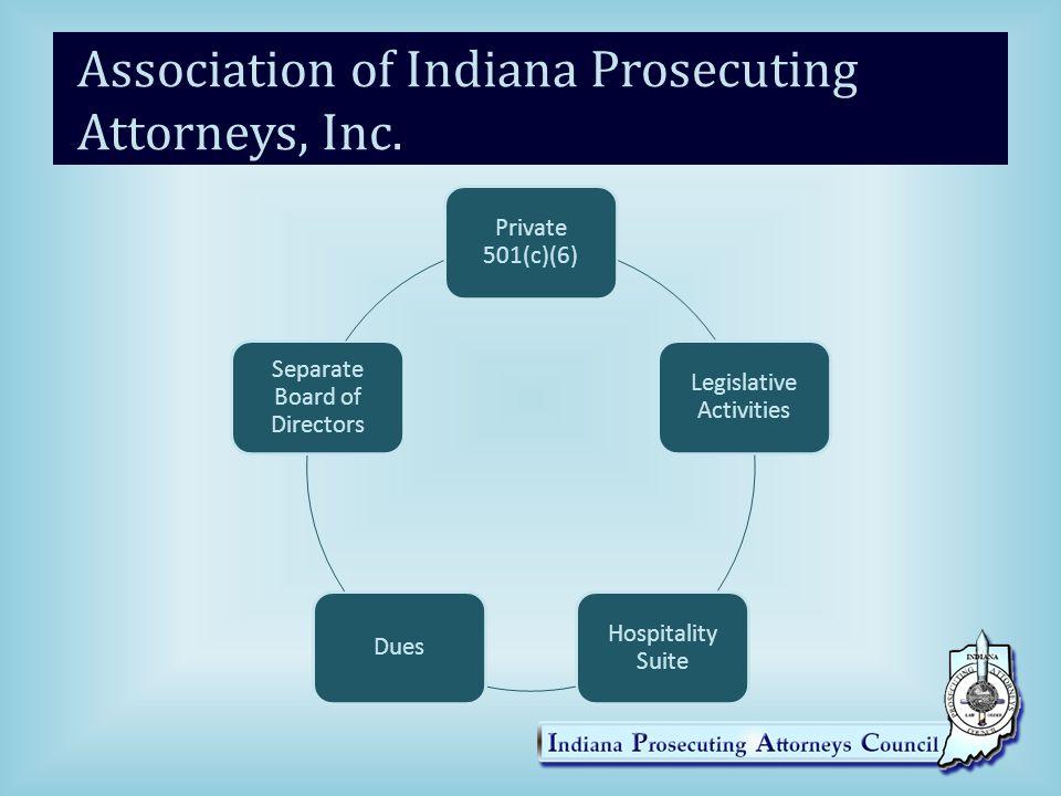 Association of Indiana Prosecuting Attorneys, Inc.