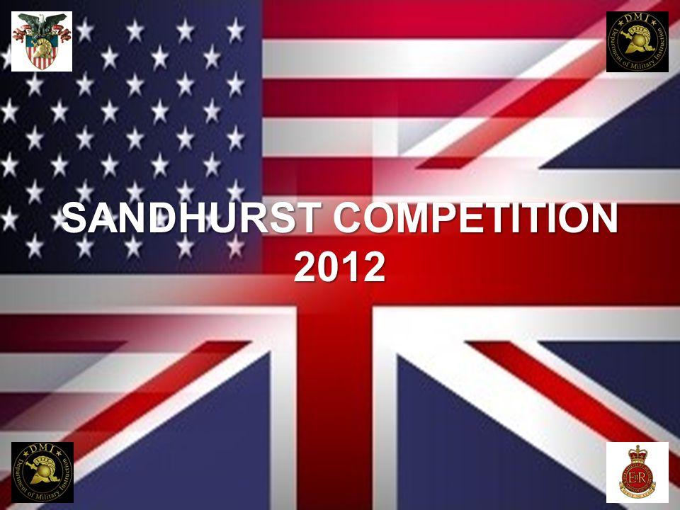 SANDHURST COMPETITION 2012
