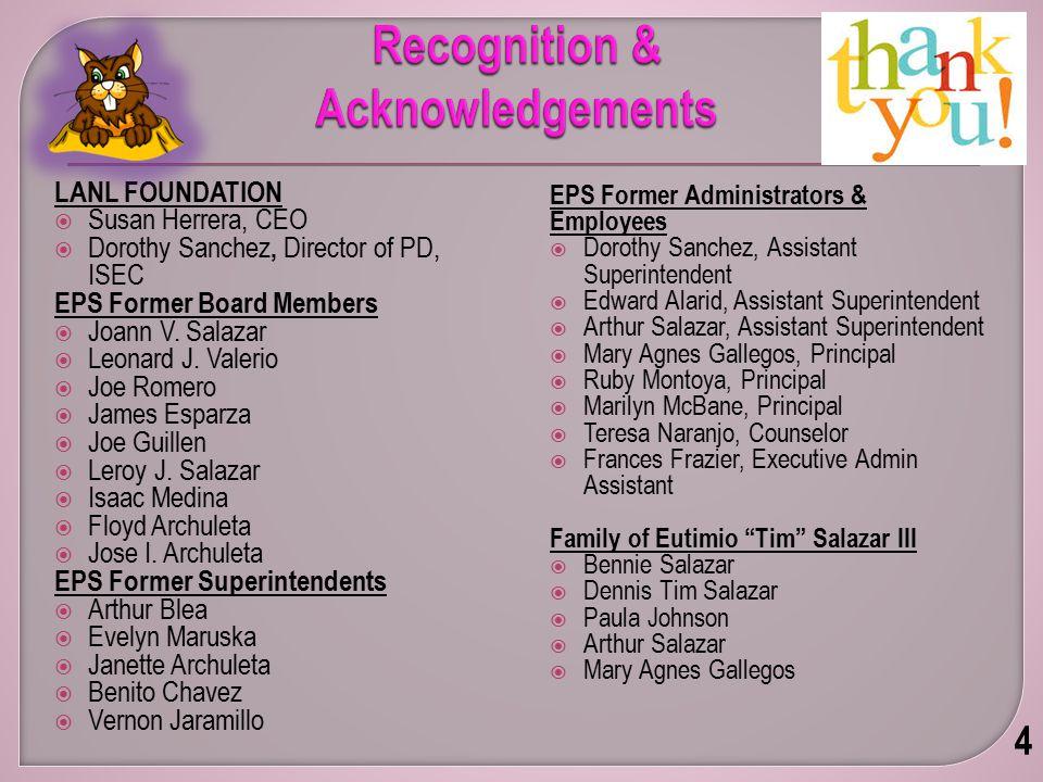Presented by: Dr. Daniel Trujillo Superintendent Espanola Public Schools 5 Welcome & Comments