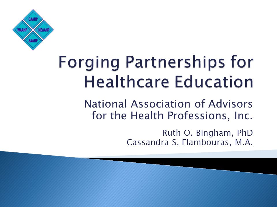 National Association of Advisors for the Health Professions, Inc.