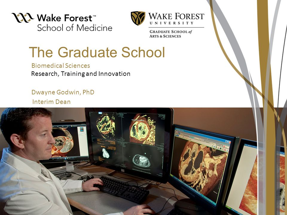 Wake Forest Baptist Medical Center Thesis YearsYears 1-2 Biomedical PhD Programs (2012) Molecular and Cellular Biosciences Integrated Physiology and Pharmacology Neurosciences Biomedical Engineering Neuroscience Neurobiology and Anatomy Physiology/Pharmacology Neuroscience Neurobiology and Anatomy Physiology/Pharmacology Biochemistry Cancer Biology Micro/Immunology Molecular Genetics/Genomics Molecular Medicine Molecular Pathology Biochemistry Cancer Biology Micro/Immunology Molecular Genetics/Genomics Molecular Medicine Molecular Pathology Biomedical Engineering Application