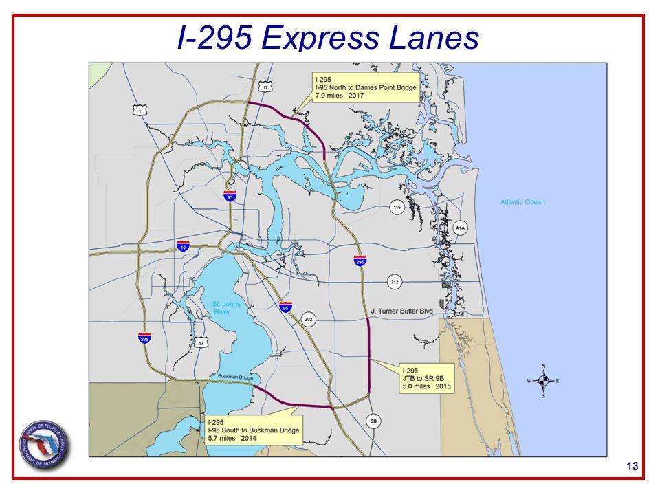 I-295 Express Lanes 13