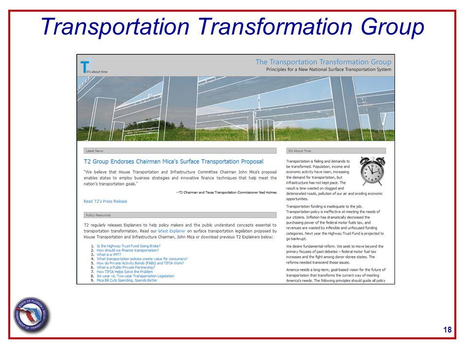 Transportation Transformation Group 18
