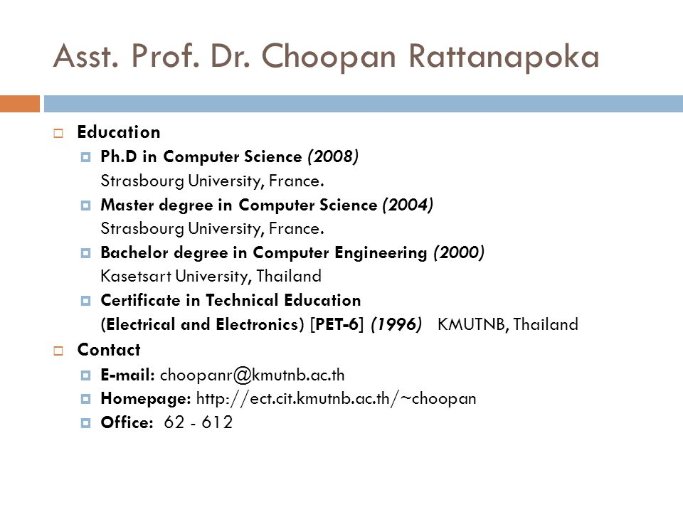 Asst.Prof. Dr.