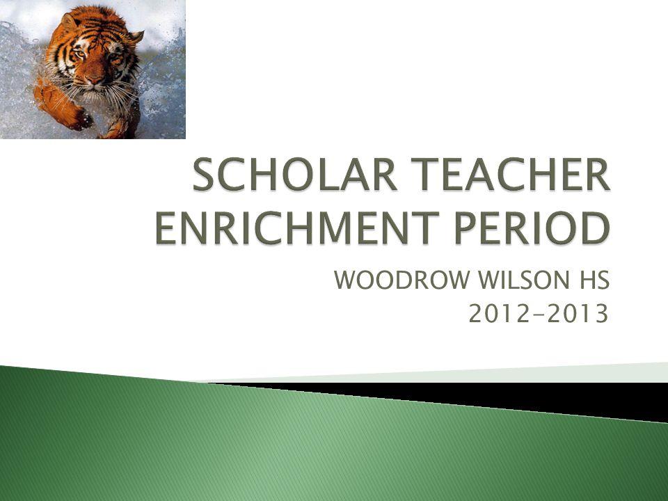 WOODROW WILSON HS 2012-2013