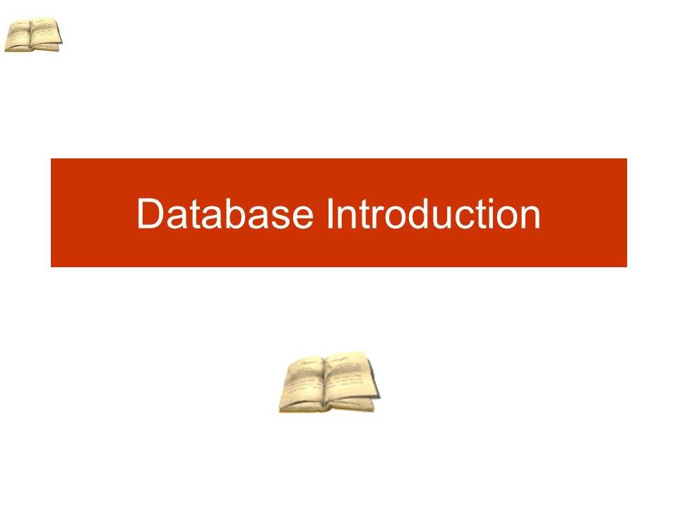 Database Introduction
