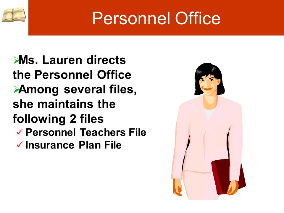 Personnel Office  Ms.
