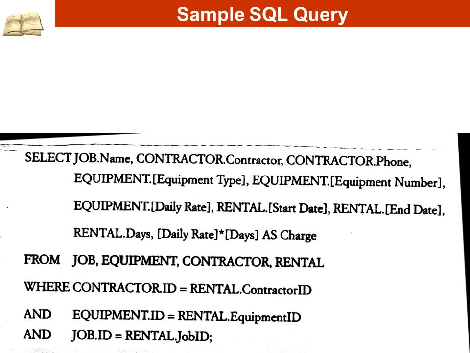 Sample SQL Query