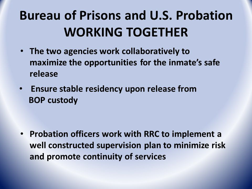 Bureau of Prisons and U.S.