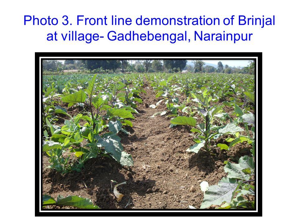 Photo-2.Check dam at village- Palki,Narainpur