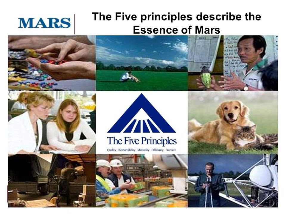 6 The Five principles describe the Essence of Mars