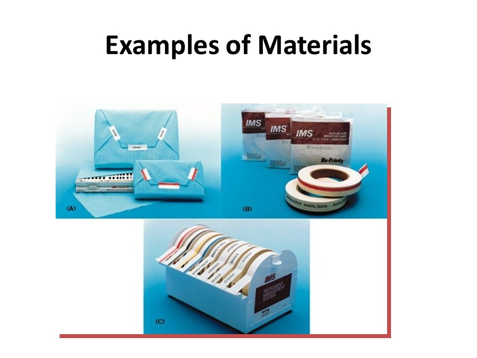 Examples of Materials