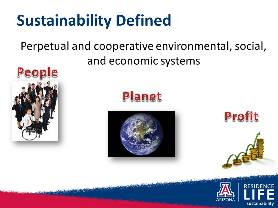 Sustainability Defined Perpetual and cooperative environmental, social, and economic systems