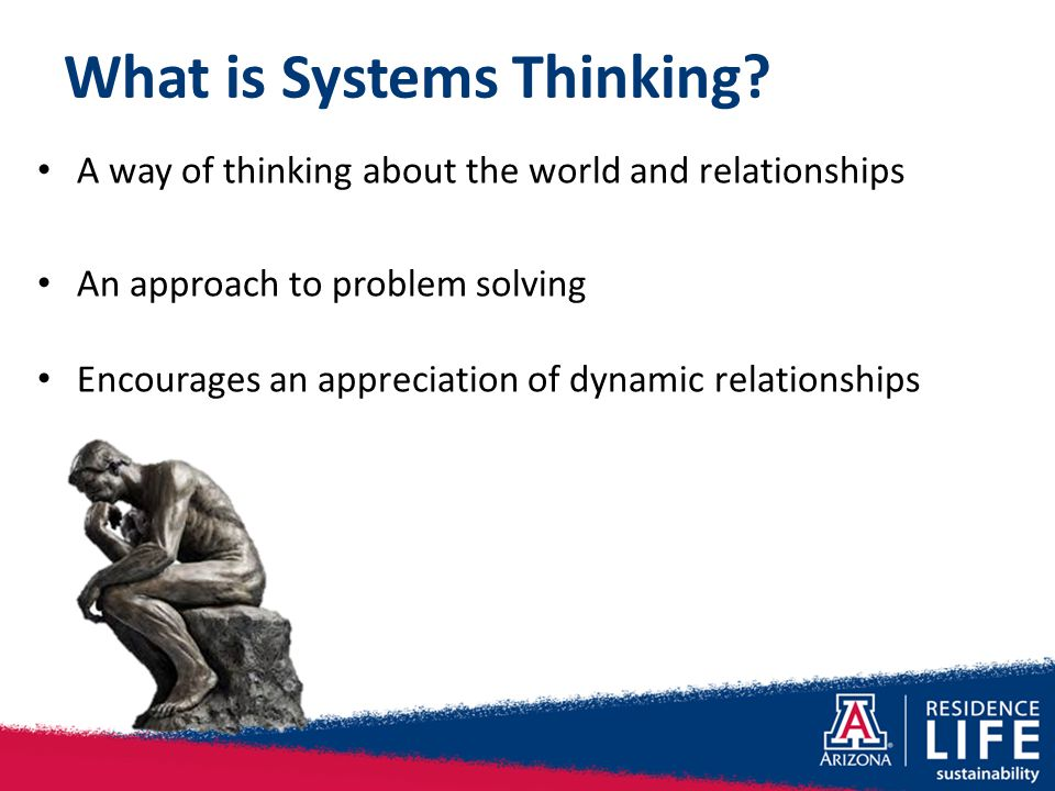 What is Systems Thinking.