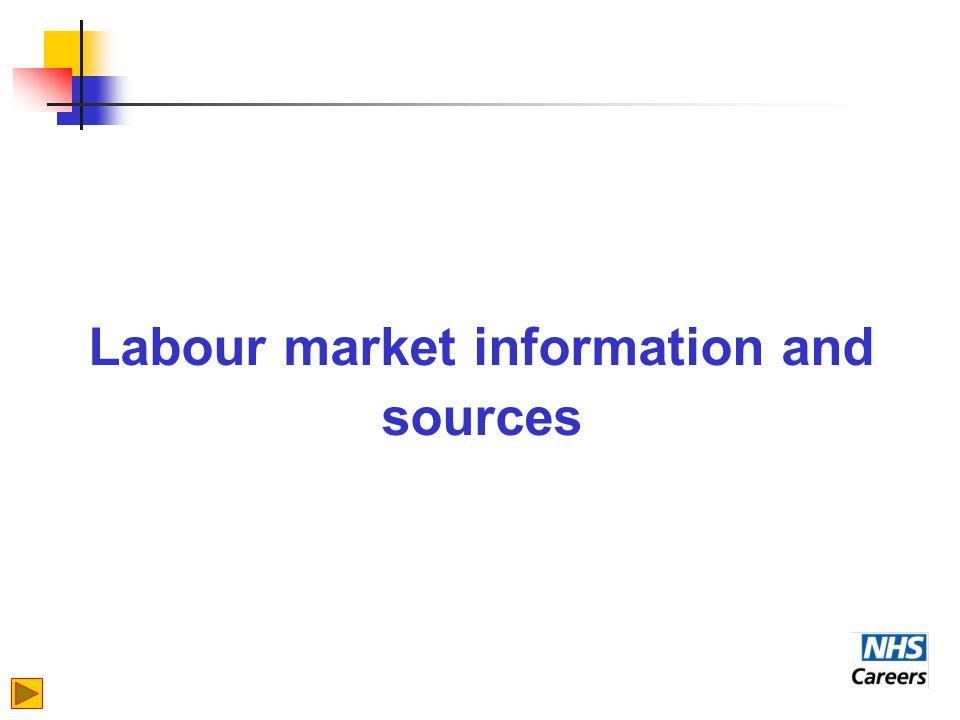 Labour market information and sources