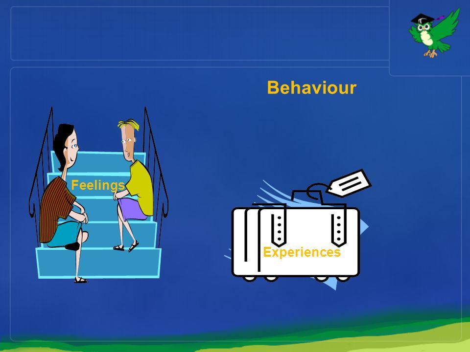 Behaviour Feelings ExperiencesE Experiences