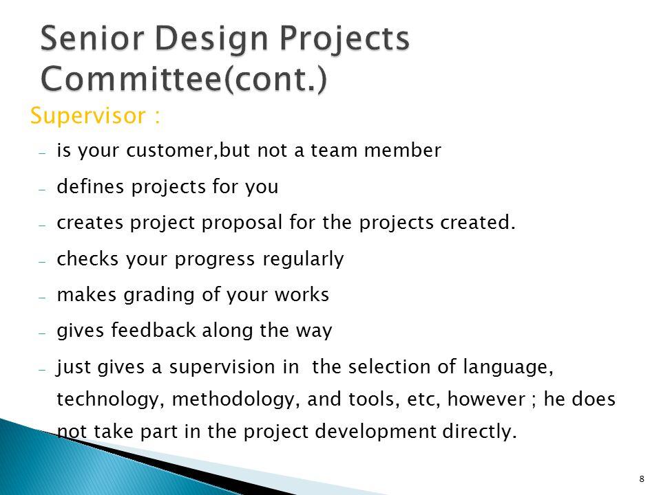  Project language is English.