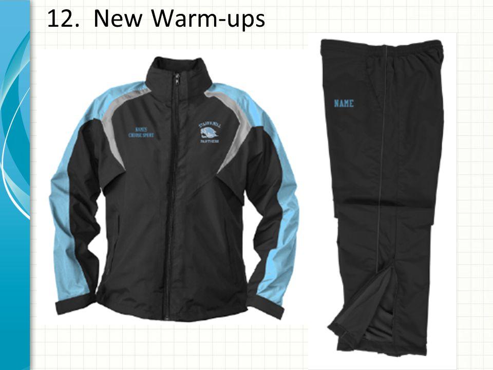 12. New Warm-ups
