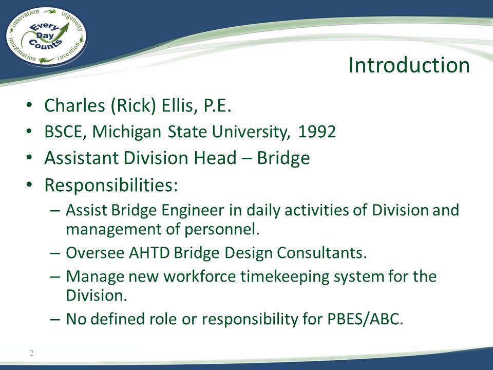 2 Charles (Rick) Ellis, P.E.