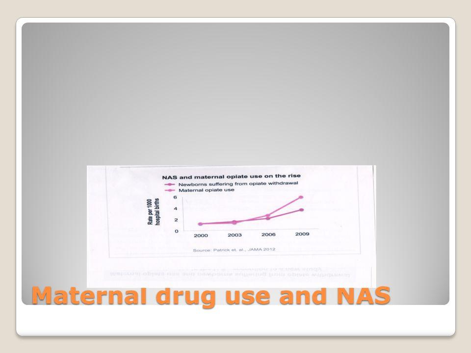 Maternal drug use and NAS