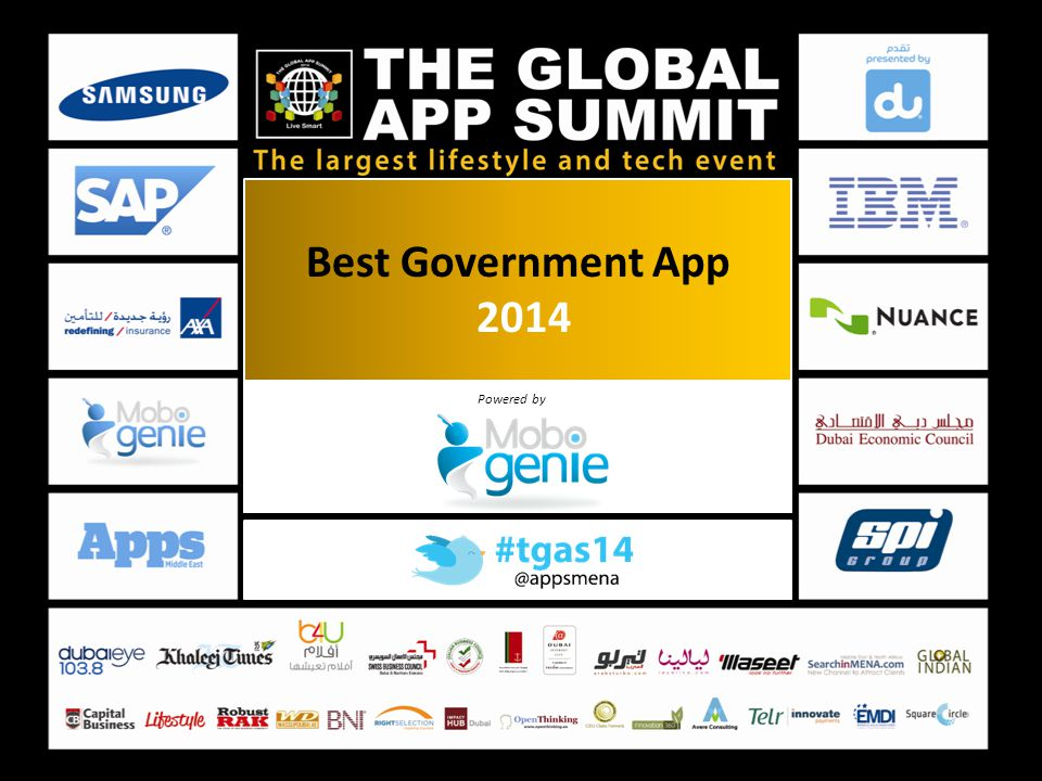 Best Government App 2014 Powered by