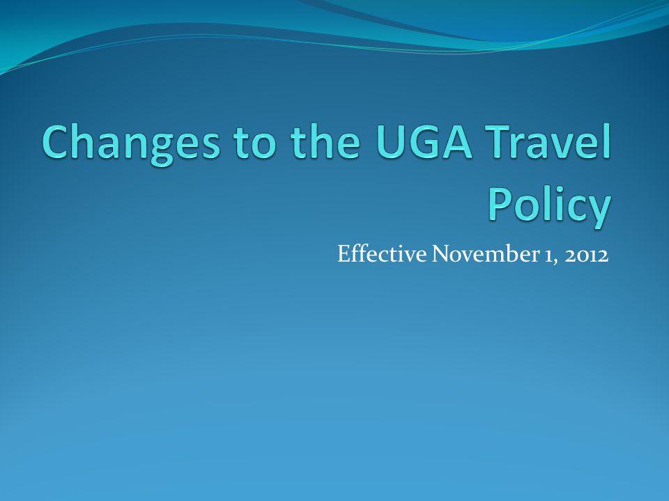 Effective November 1, 2012