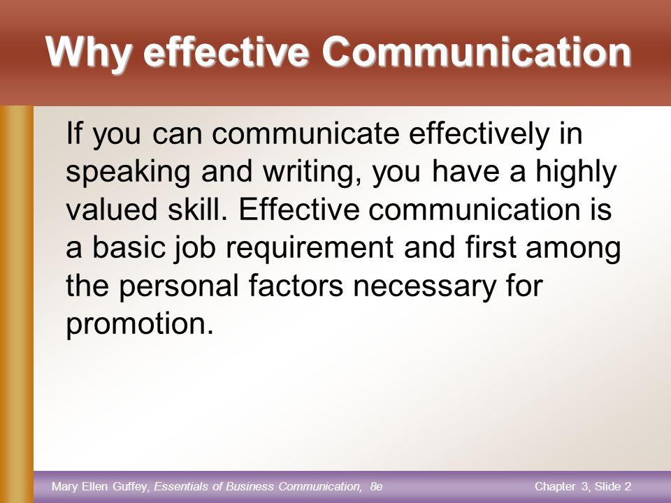 Mary Ellen Guffey, Essentials of Business Communication, 8eChapter 3, Slide 12 6.