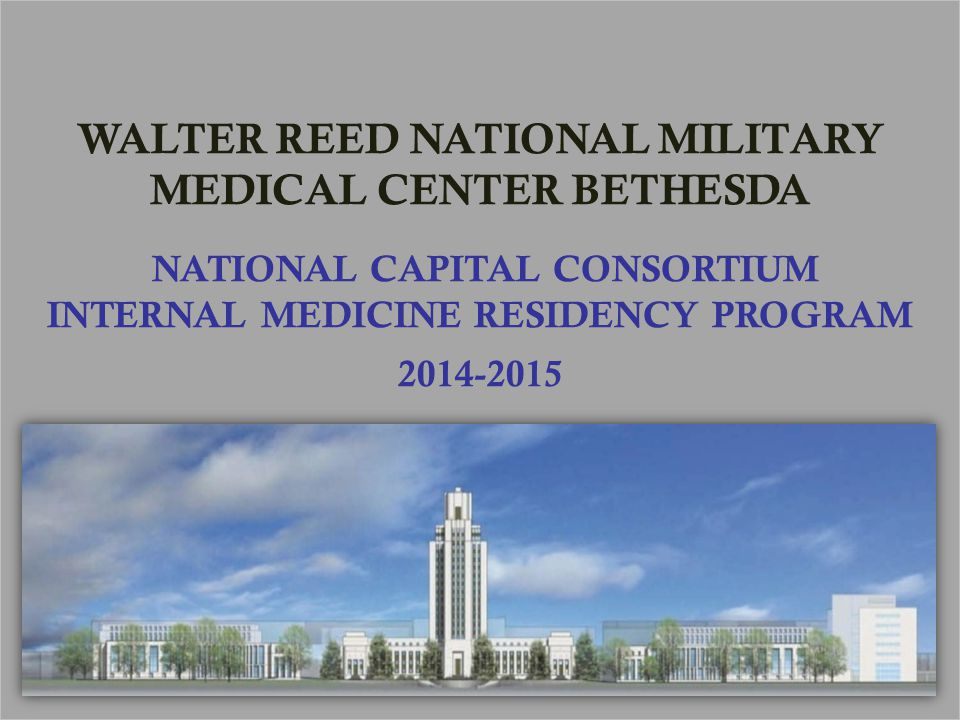 Residency Overview  Mission Statement  History of the program  Program Structure  Research Opportunities  Additional Opportunities During Residency  The DC-Baltimore Area  Program Leadership/Contact Information