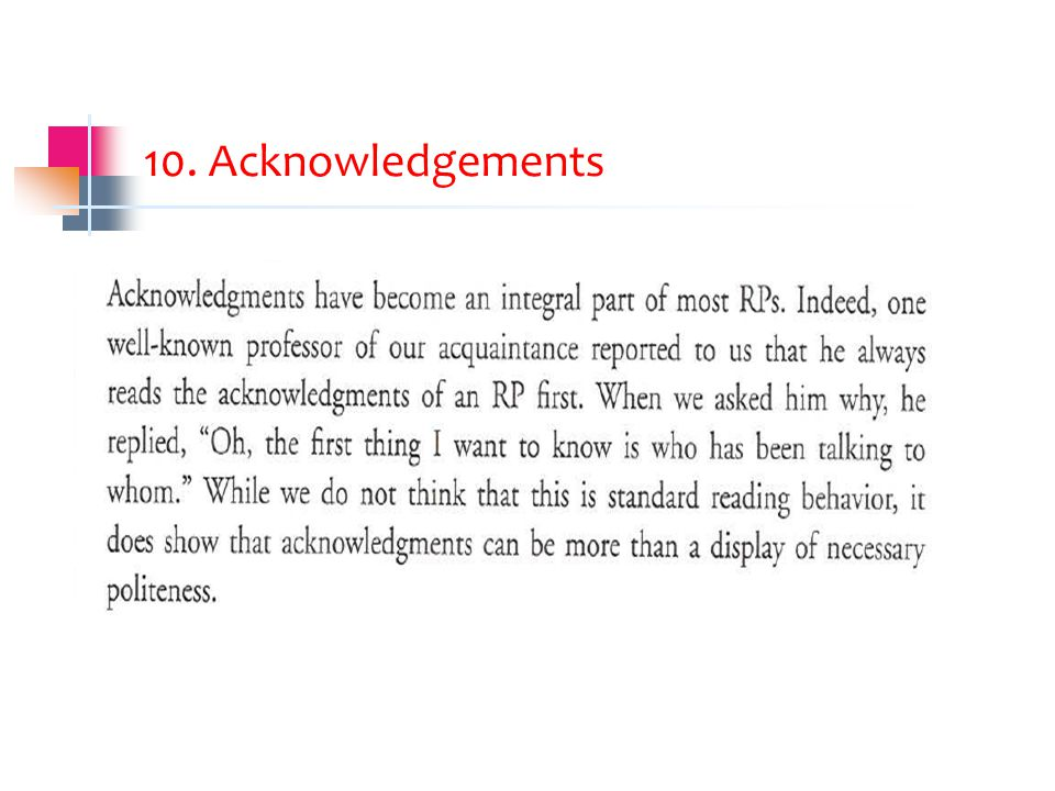 10. Acknowledgements