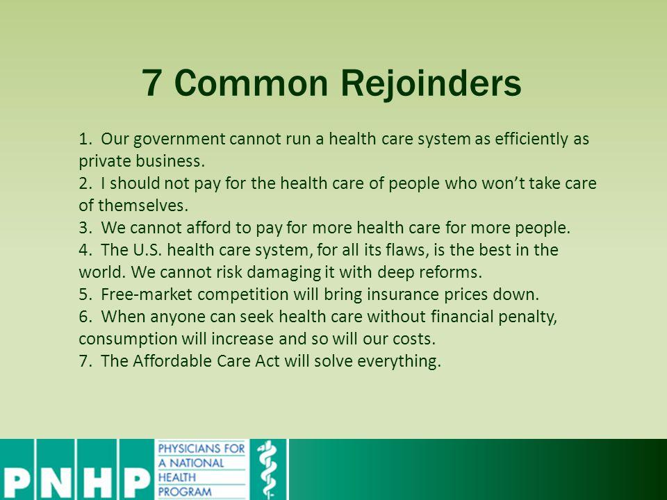 7 Common Rejoinders 1.