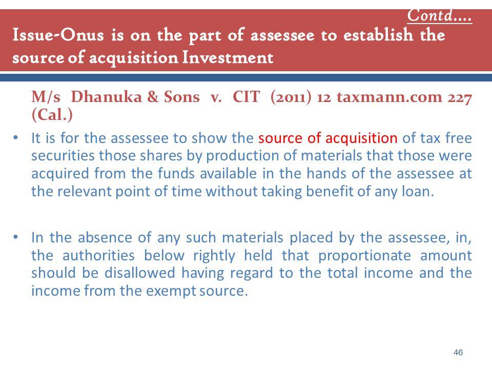 M/s Dhanuka & Sons v.