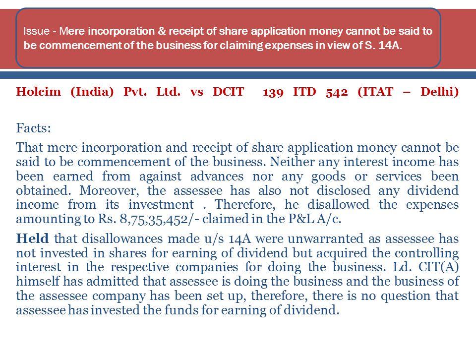 Holcim (India) Pvt. Ltd.