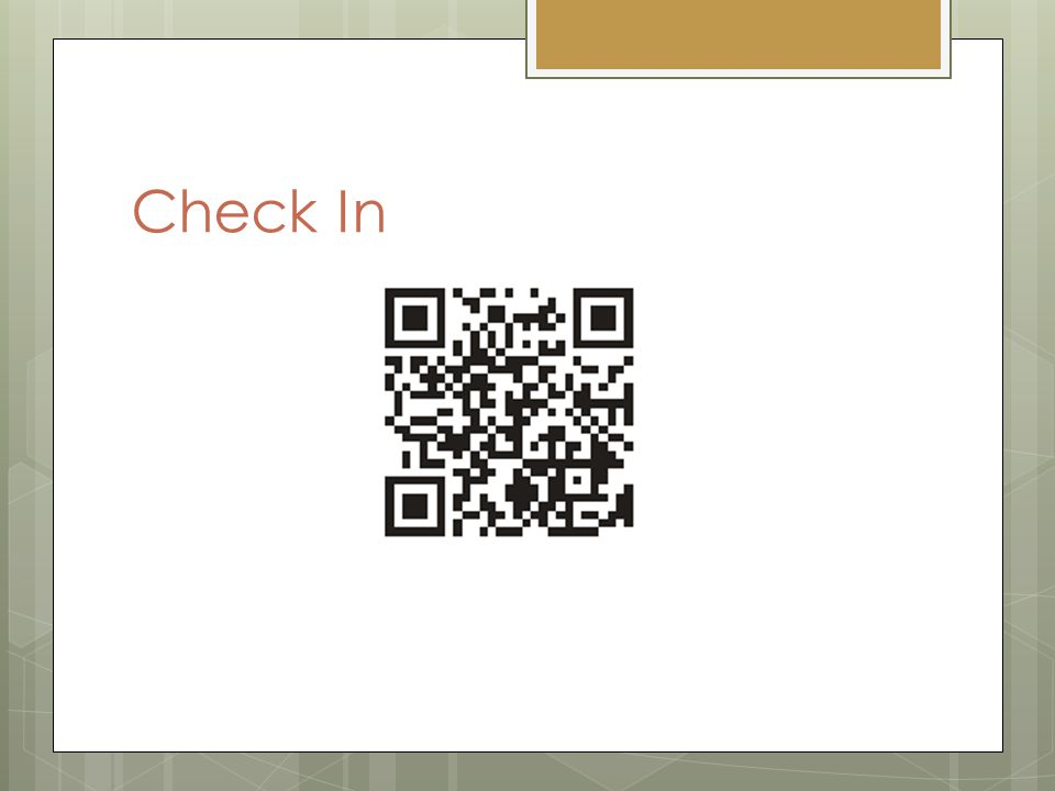 Check In