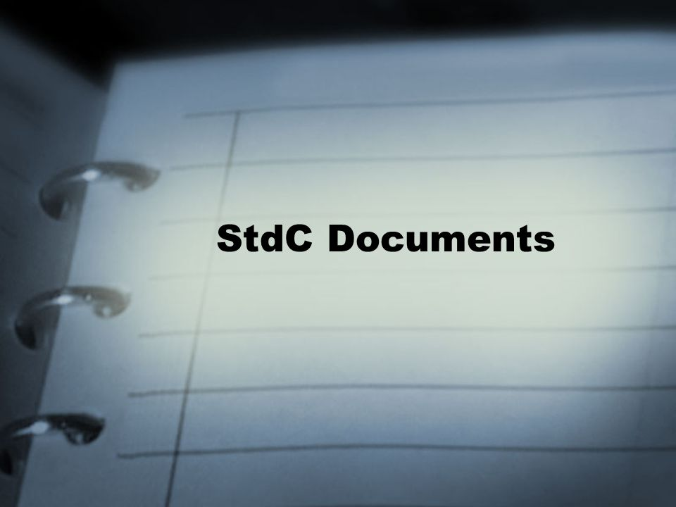 StdC Documents
