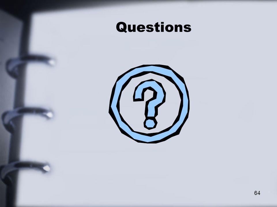 Questions 64