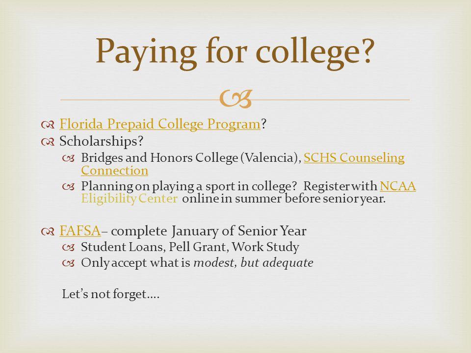   Florida Prepaid College Program. Florida Prepaid College Program  Scholarships.