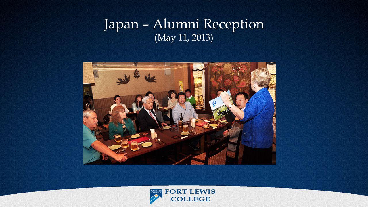 7 Japan – Alumni Reception (May 11, 2013)