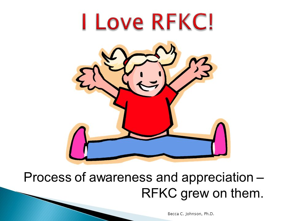 Process of awareness and appreciation – RFKC grew on them.