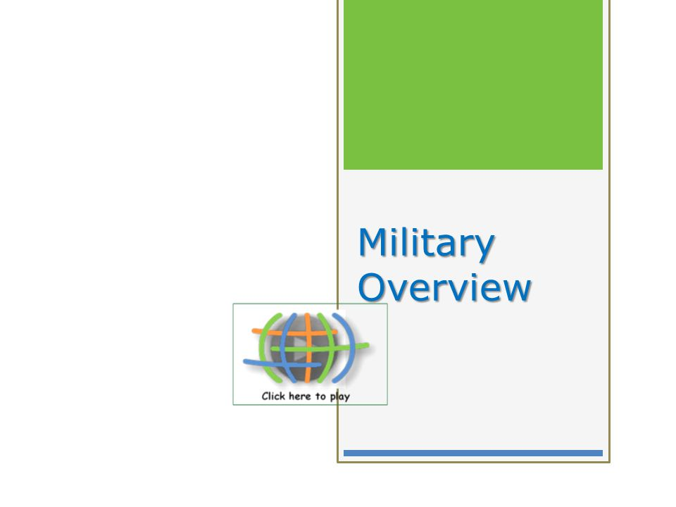 Military Overview