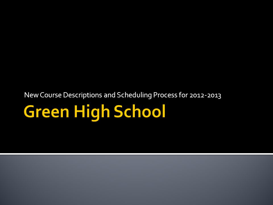  Students will be using the DASL Public Course Module to schedule their classes for the 2012-2013 school year online.