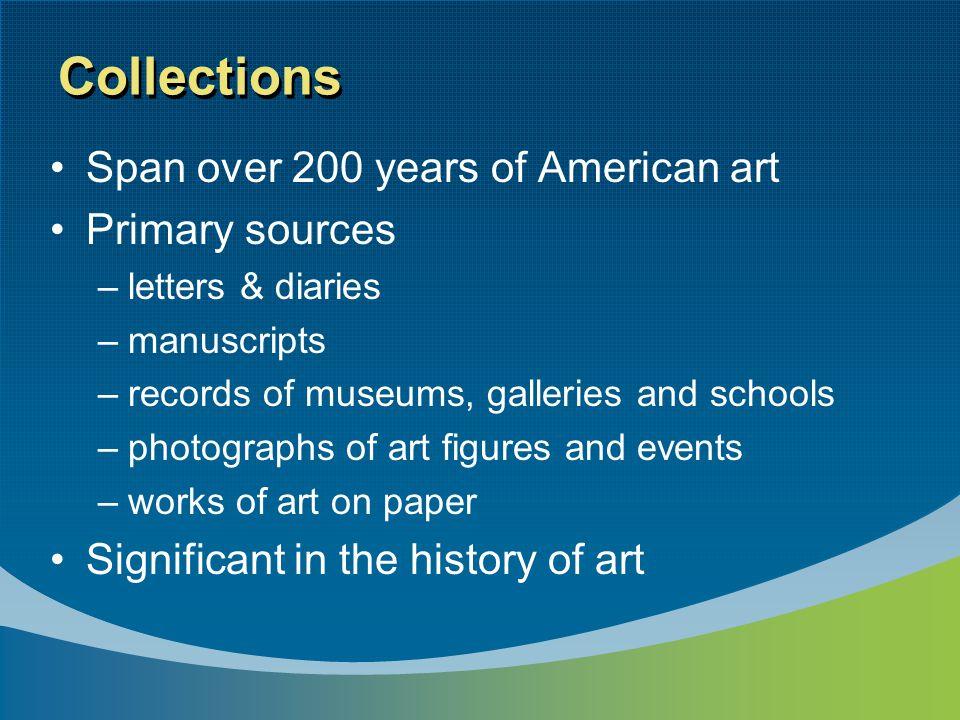Accumulations by individuals Artists & photographers Curators & administrators Artists' models Art dealers Art critics, journalists, editors Historians, collectors Librarians