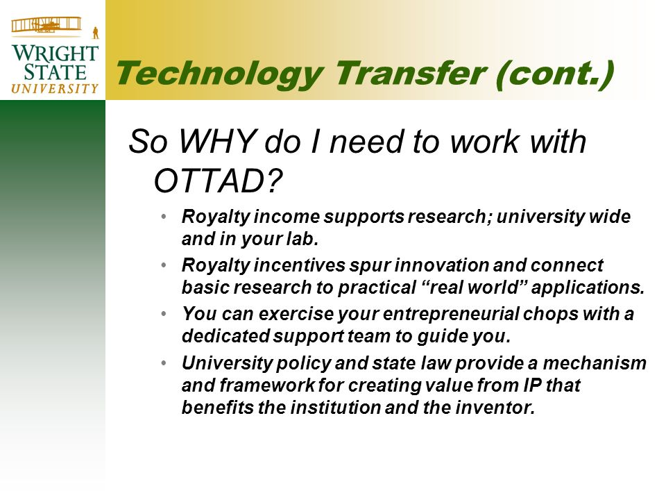 So WHY do I need to work with OTTAD.