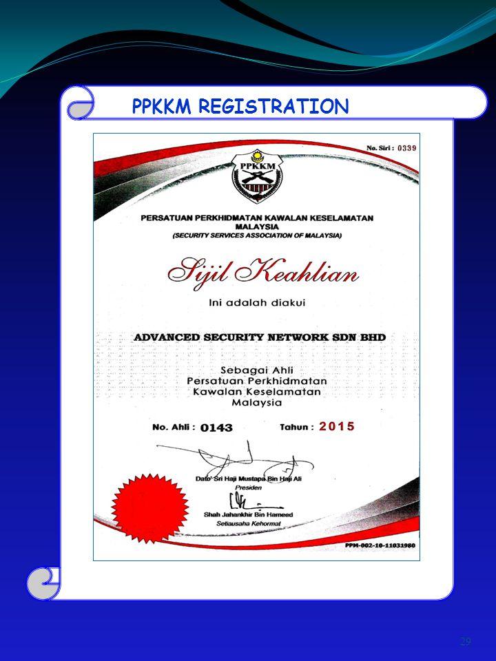 PPKKM REGISTRATION 29