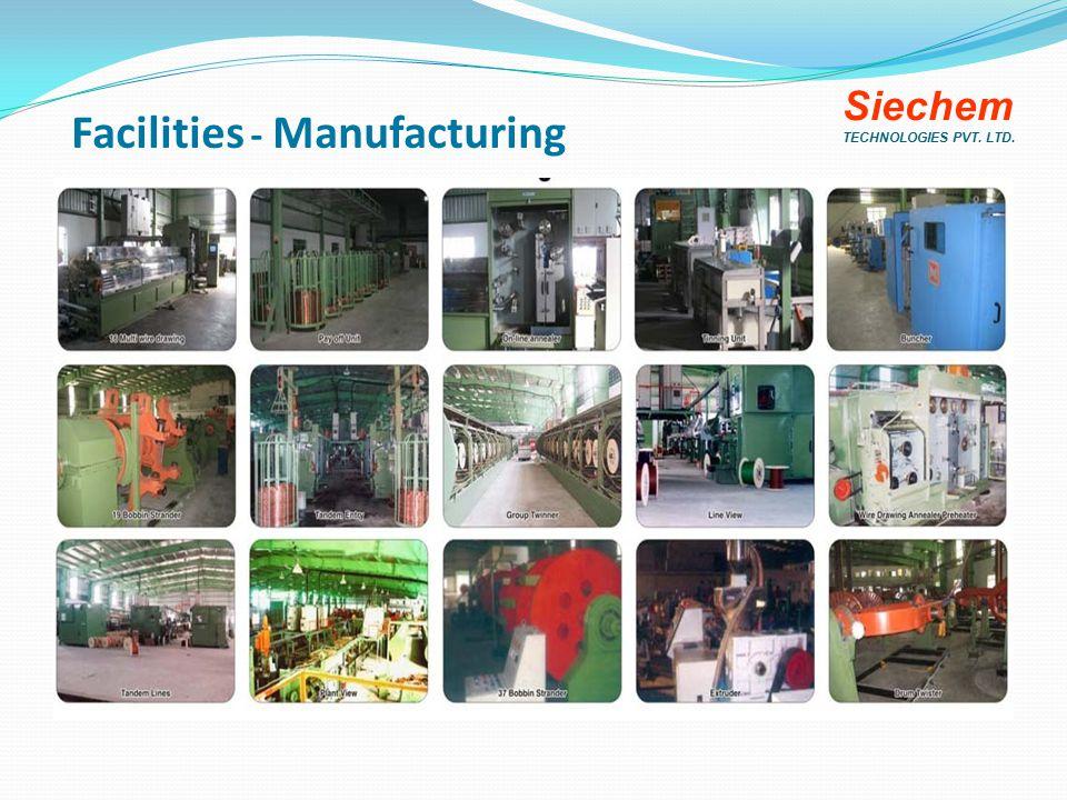 Facilities - Manufacturing Siechem TECHNOLOGIES PVT. LTD.