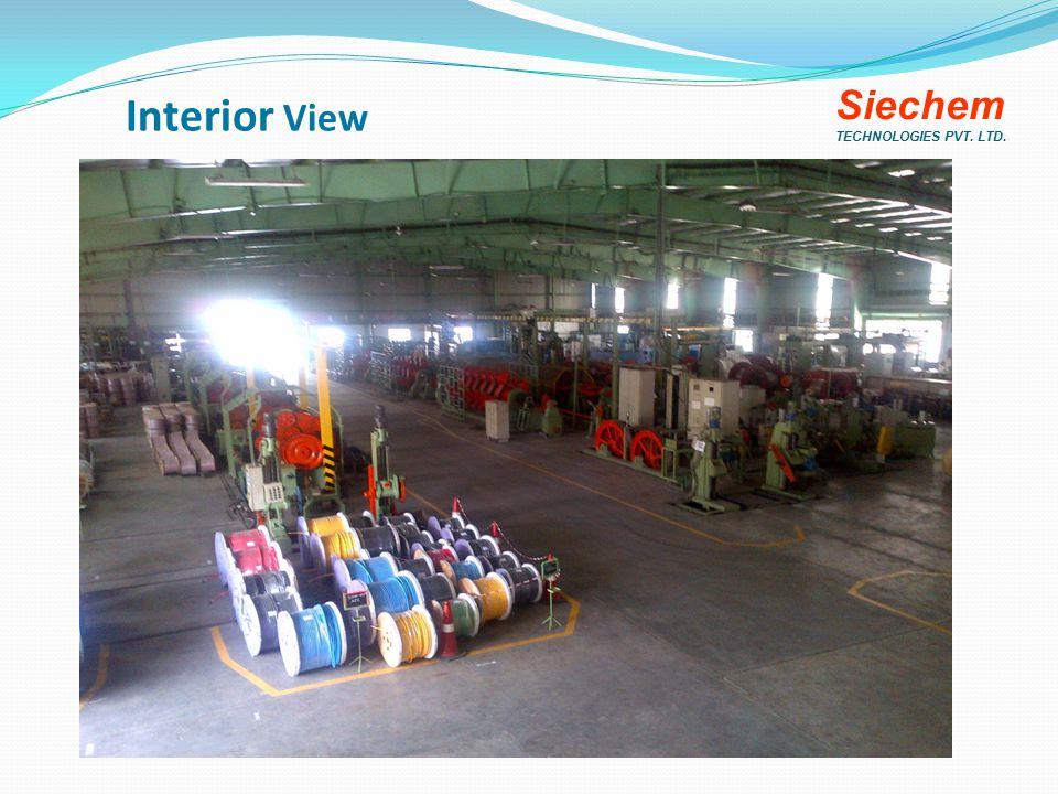 Interior View Siechem TECHNOLOGIES PVT. LTD.