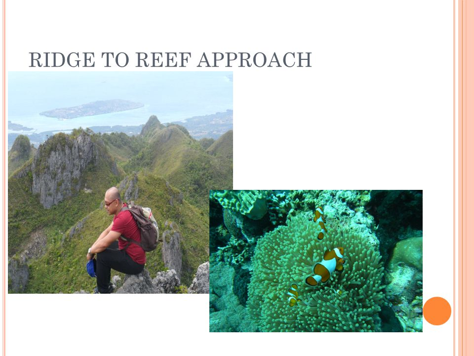 RIDGE TO REEF APPROACH
