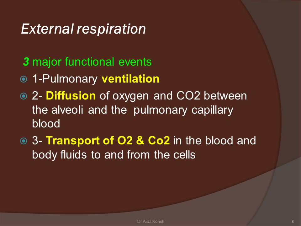  2-Intrapleural pressure (IPP):  is negative with respect to atmospheric pressure at the end of normal expiration.
