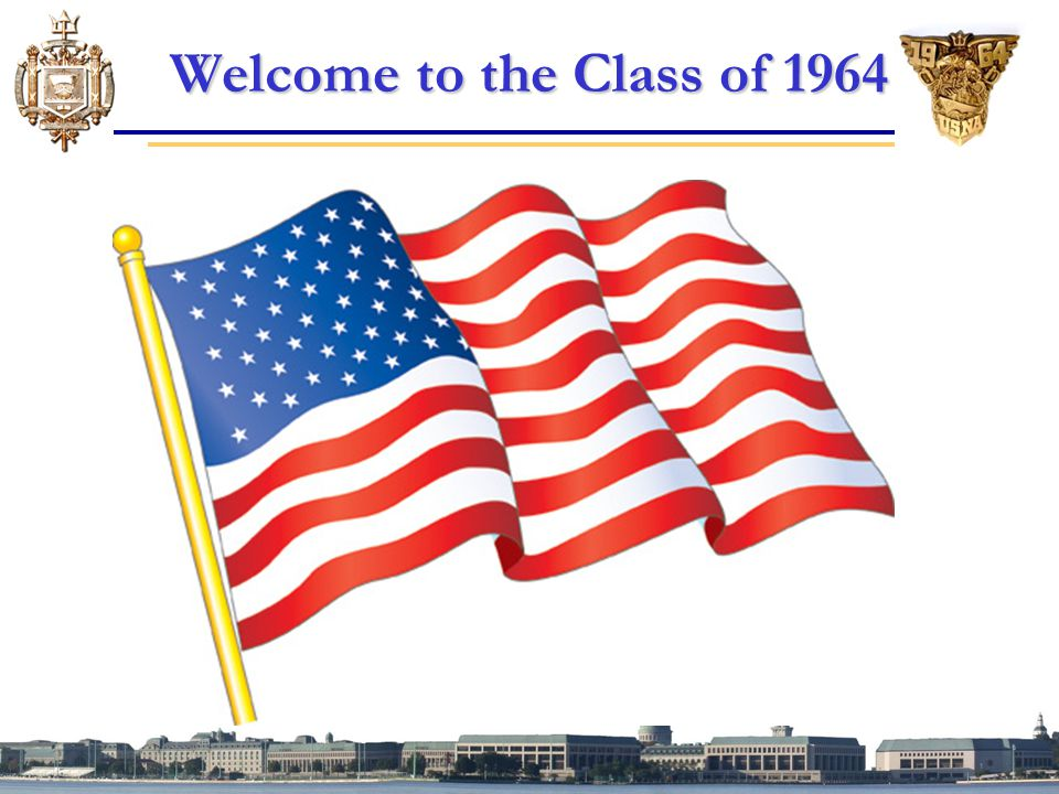 Welcome to the Class of 1964