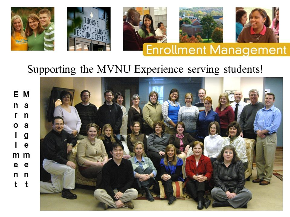 Supporting the MVNU Experience serving students!