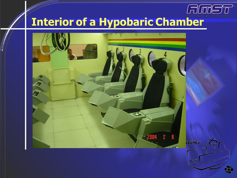 Interior of a Hypobaric Chamber